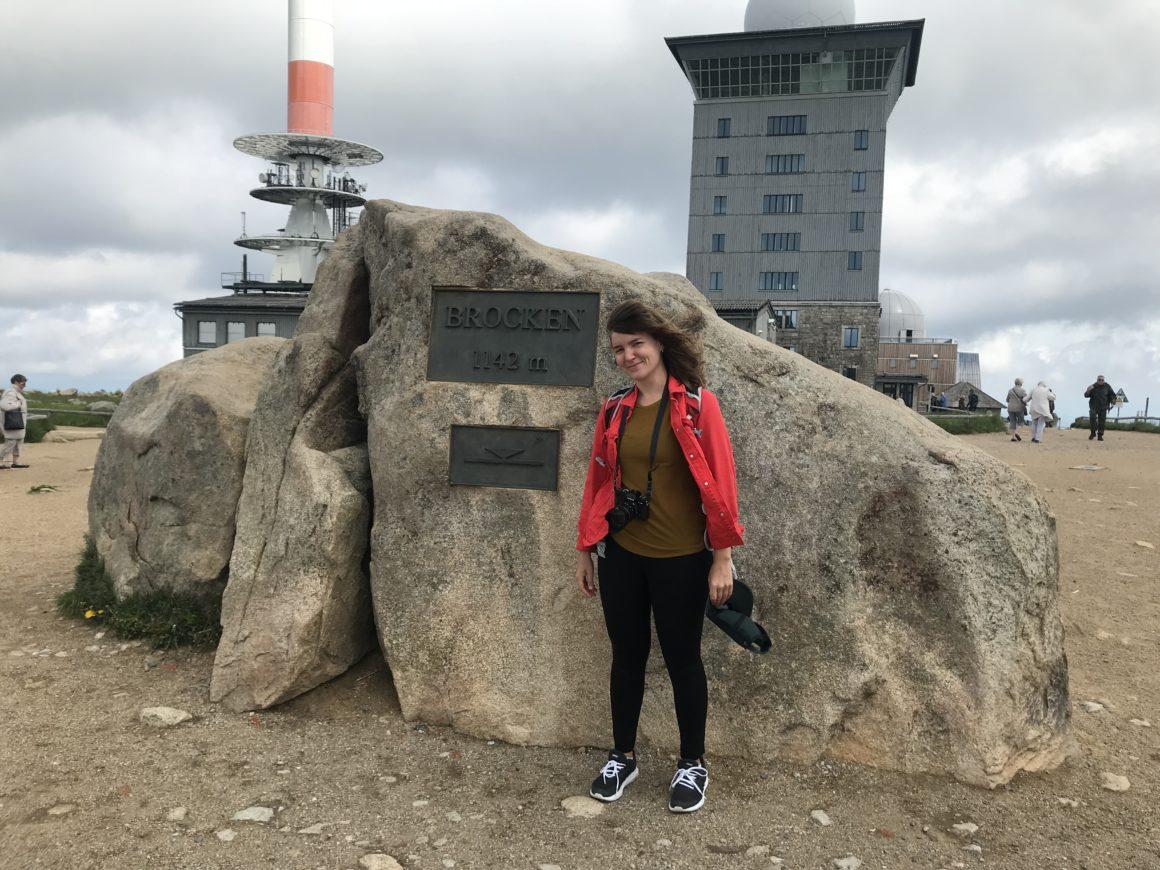 Rejsejournalist og forfatter Karna Bunk på pressetur til Harzen