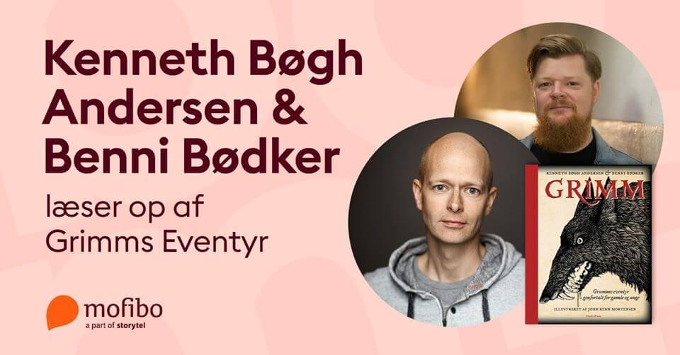 Bogforum 2019 - Kenneth Bøgh Andersen og Benni Bødker
