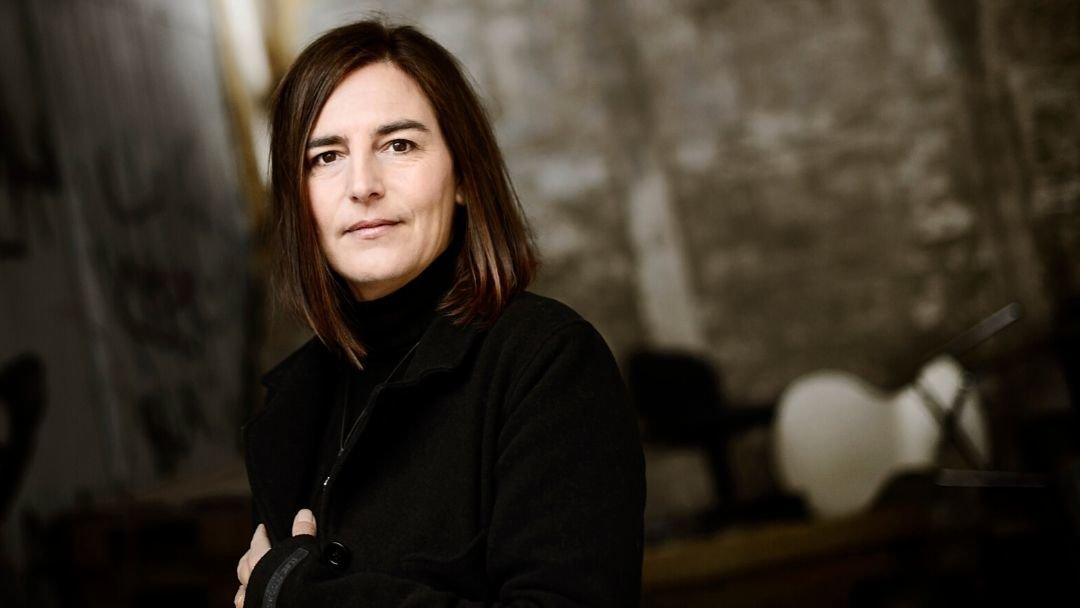 Eva Maria Fredensborg. Forfatteren bag krimiserien 'Akademiet'. Serien består af 'Den tavse røver' (2017), 'Drengen der forsvandt' (2019) og 'Hyrden' (2020).  FOTO: LES KANER