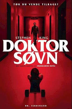 Lyt til 'Doktor Søvn' af Stephen King, indlæst af Peter Bøttger.   Lasse Løager anbefaler.