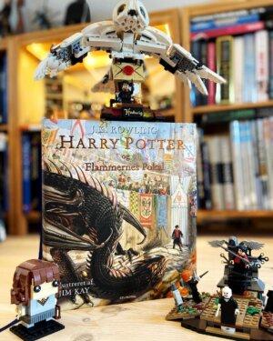 Sommerbøger til børn og deres voksne:  @norogfarlaeser anbefaler 'Harry Potter'